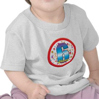 6th Birthday Today v2 T-shirts