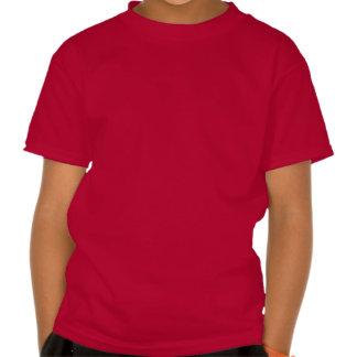 6th Birthday WHITE Big Number Name V03A3 Shirts