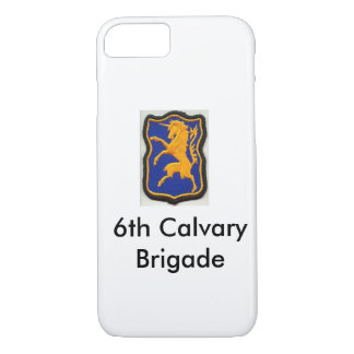 6th Calvary Brigade I-Phone 7 Cell Phone Case