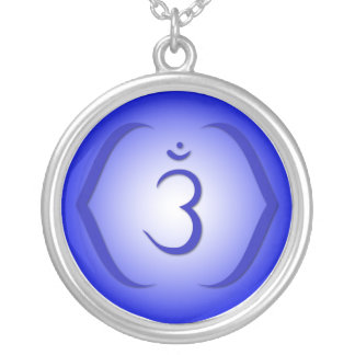 6th Chakra - Ajna Silver Plated Necklace