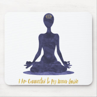 6th Chakra Third Eye Ajna Affirmation Mouse Pad