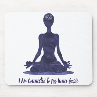 6th Chakra Third Eye Ajna Tee Shirt Inner Guide Mouse Pad