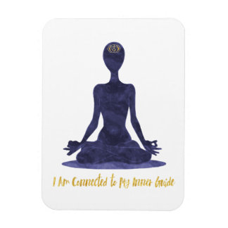 6th Chakra Third Eye Anja Affirmation Magnet