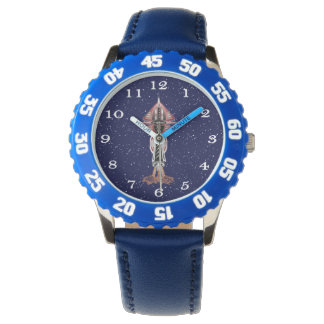 6th Dimension Rocket Ship Wrist Watch