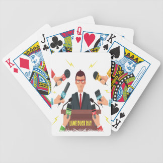 6th February - Lame Duck Day - Appreciation Day Bicycle Playing Cards