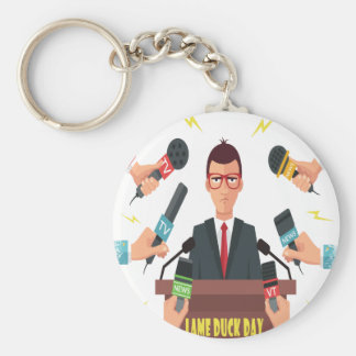 6th February - Lame Duck Day - Appreciation Day Keychain