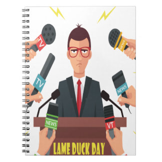 6th February - Lame Duck Day - Appreciation Day Notebook