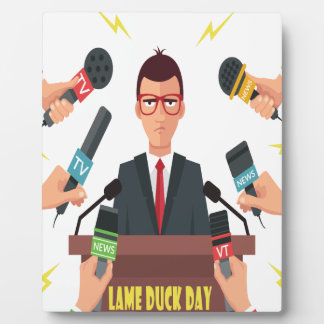 6th February - Lame Duck Day - Appreciation Day Plaque