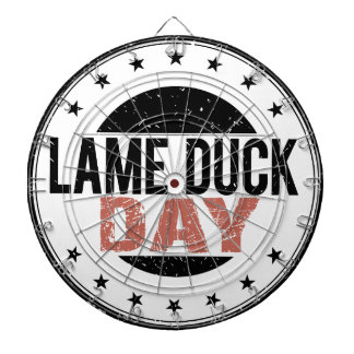 6th February - Lame Duck Day Dartboard