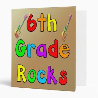 6th Grade Rocks Binder