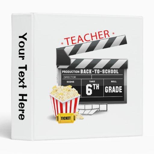 6th Grade Teacher Binder