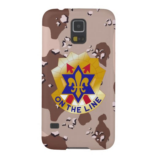 """6th Infantry Division """"Sight Seein' Sixth"""" Camo Cases For Galaxy S5"""