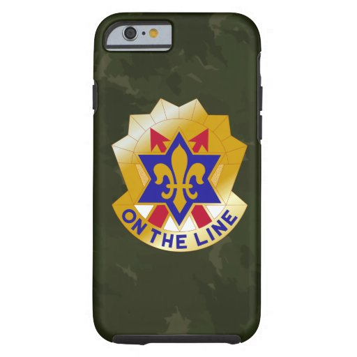 """6th Infantry Division """"Sight Seein' Sixth"""" Camo iPhone 6 Case"""