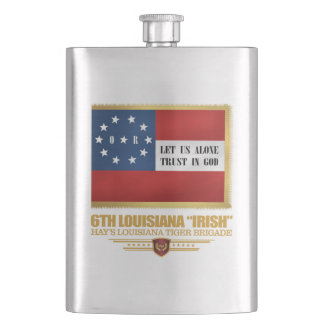 "6th Louisiana ""Irish"" Infantry Hip Flask"