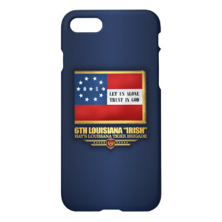 "6th Louisiana ""Irish"" Infantry iPhone 7 Case"