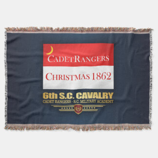 6th SC Cavalry (Cadet Rangers) Throw Blanket