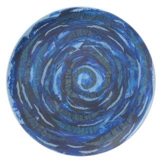 6th-Third Eye Chakra Artwork #2 Plates