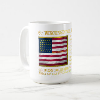 6th Wisconsin Volunteer Infantry (BH) Coffee Mug