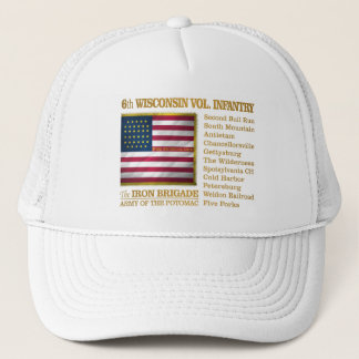 6th Wisconsin Volunteer Infantry (BH) Trucker Hat