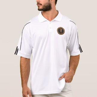 [700] Golden Chinese Dragon Fucanglong Polo Shirt