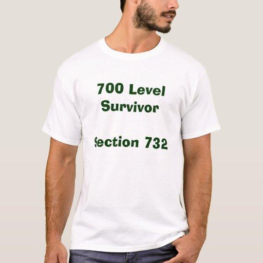 700 Level Survivor Section Shirt