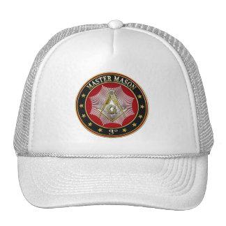 [700] Master Mason - 3rd Degree Square & Compasses Hats
