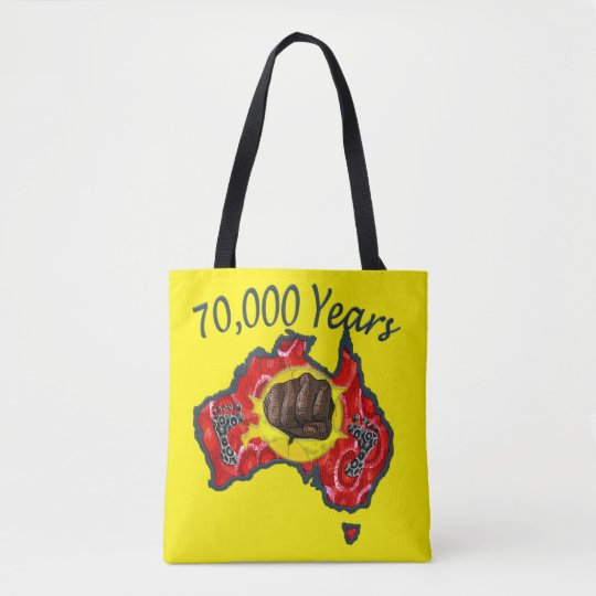 70,000 Years Aboriginal Tote Bag