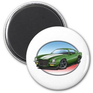 70-73 Green W Camaro.png Magnet