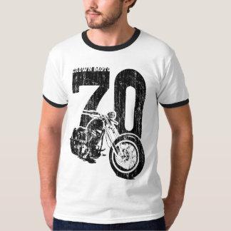 '70 Bobber (vintage black) T-Shirt