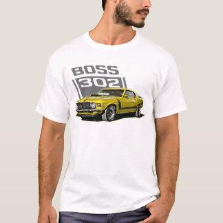 70 Boss 302 Yellow T-Shirt