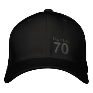 70, Duplessis Embroidered Hat