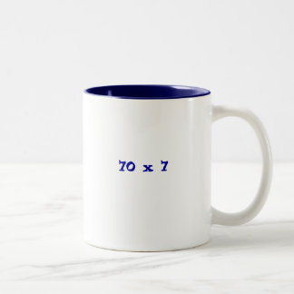 70 x 7 Two-Tone coffee mug