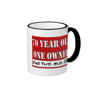 70 Year Old, One Owner - Needs Parts, Make Offer Coffee Mugs