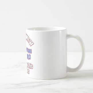 70 years Old birthday designs Coffee Mug
