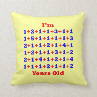 70 Years Old Throw Pillow
