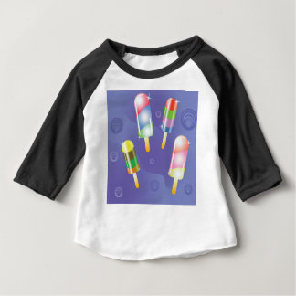 70Ice Cream _rasterized Baby T-Shirt
