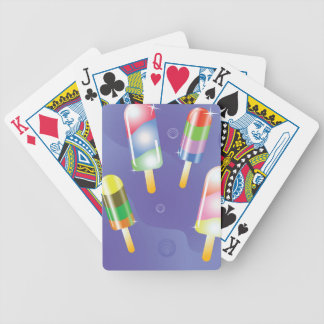 70Ice Cream _rasterized Bicycle Playing Cards