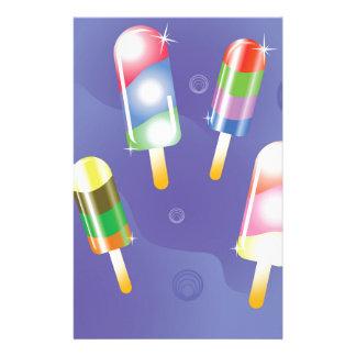 70Ice Cream _rasterized Stationery