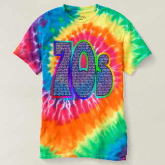 70s Catch Phrase Tie-dye! T-shirt