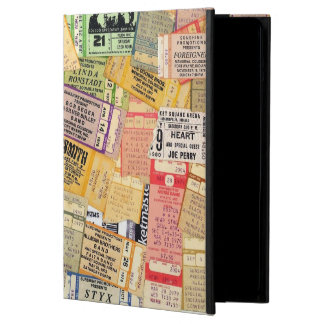 70s Concert Ticket Stubs iPad Air Case