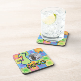 70s Disco Drink Coaster