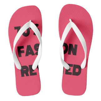 70's Fashion Revisited Flip-Flops Flip Flops