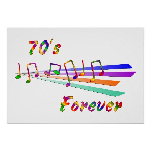 70's Forever Poster