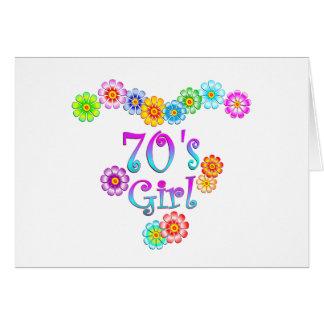 70's Girl Card