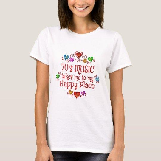 70s Happy Place T-Shirt
