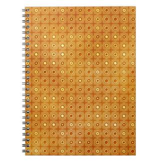70's Klimt Spiral Notebooks