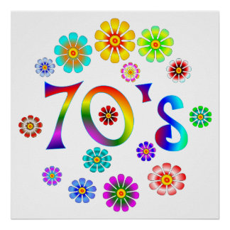 70s Love Poster