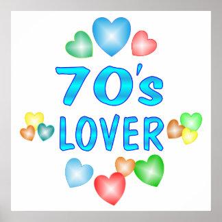 70s Lover Poster