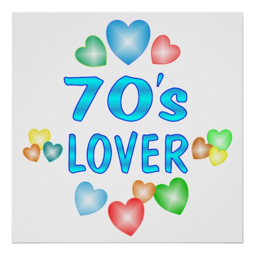 70s Lover Poster