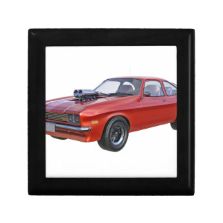 70's Muscle Car in Red Gift Box